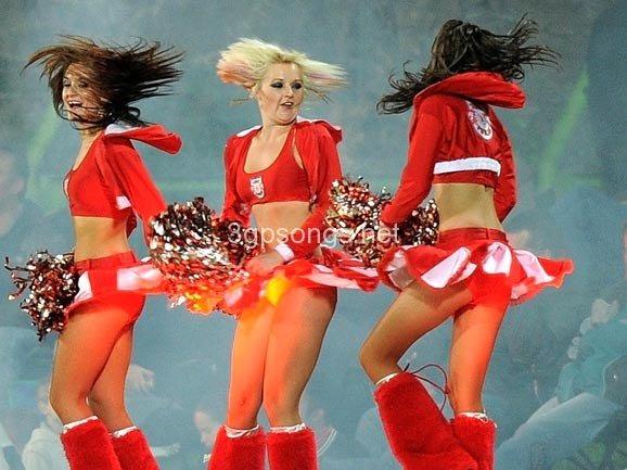 Hottest cheerleaders worlds