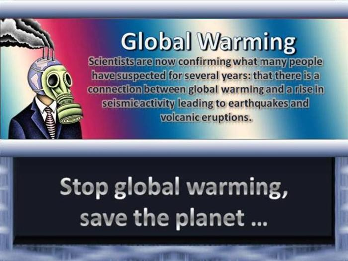 global warming how to cool