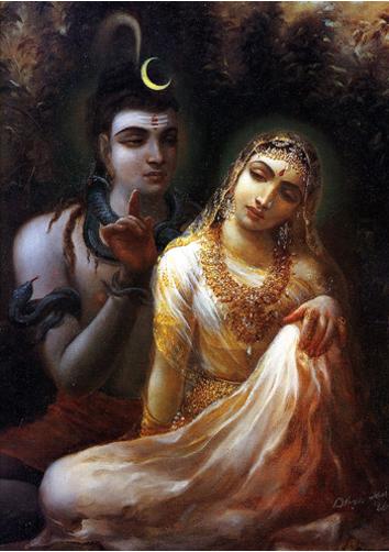 Shiva And Parvati S Eternal Love In Pics Indiatimes Com