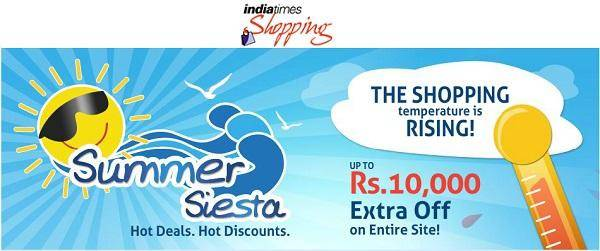 Indiatimes discount coupons