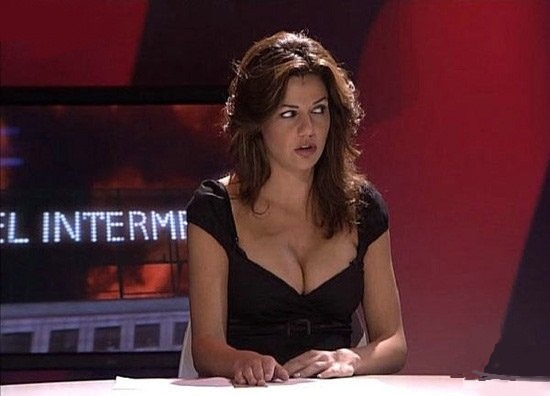 Very sexy girl news anchor-8955