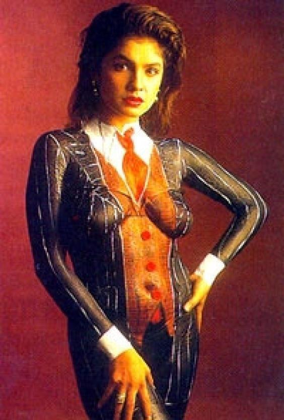 Body paint actress indian