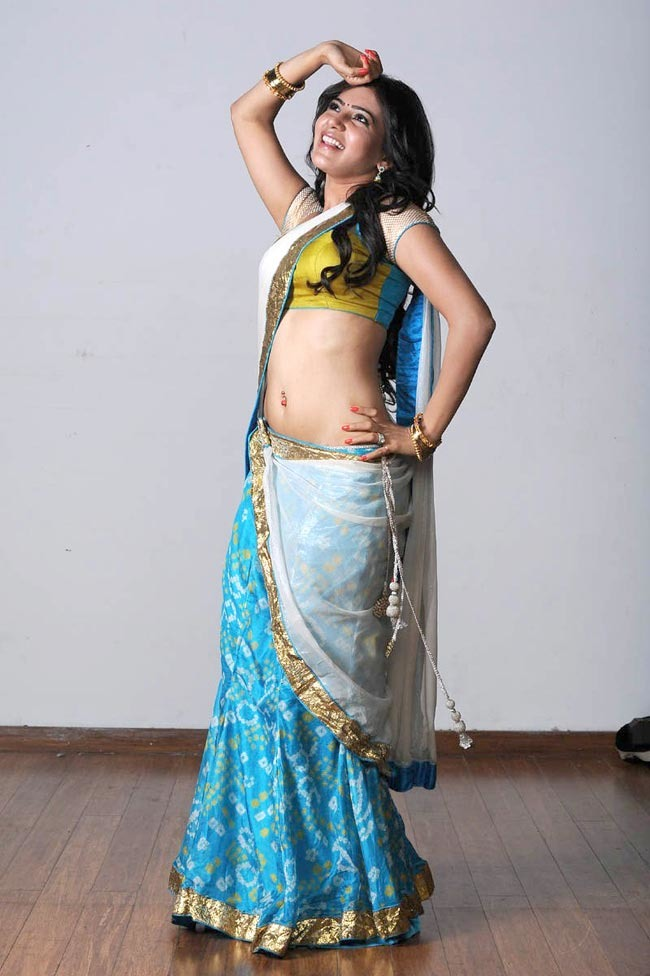 Samantha In Saree Indiatimes Com