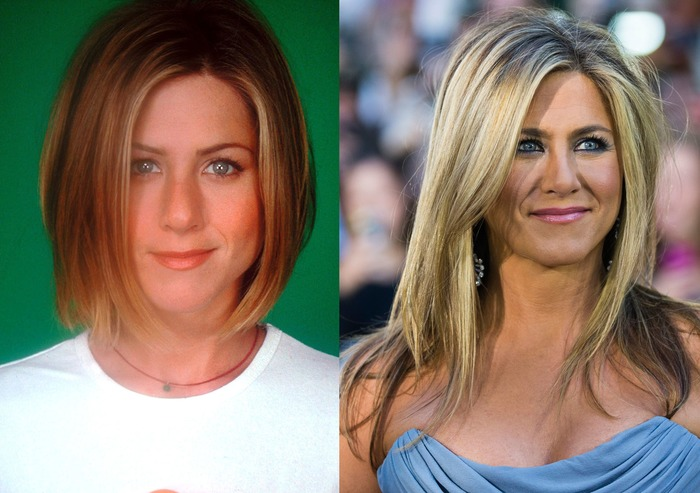 Friends Then And Now Cast of Friends...