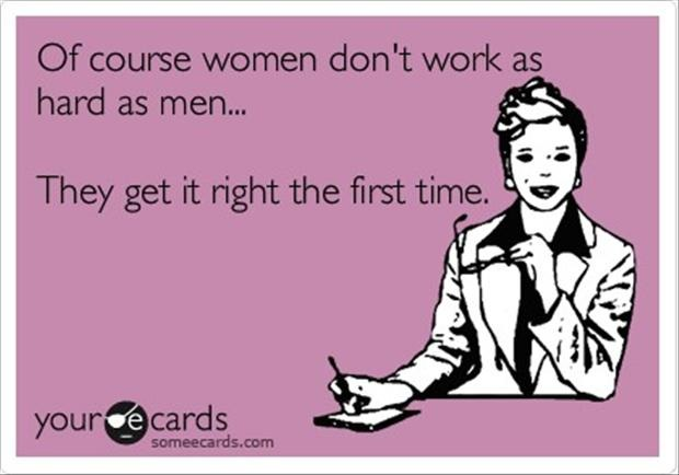 Sarcastic quotes about women