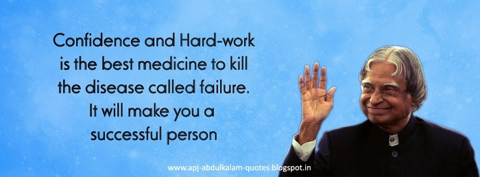 APJ Abdul Kalam's Inspirational Quotes Photos