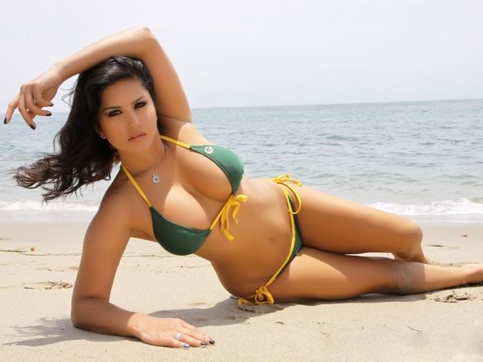 Image result for sunny leone bikini