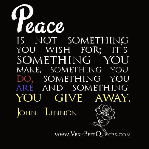 super quotes about peace - Peace Quotes