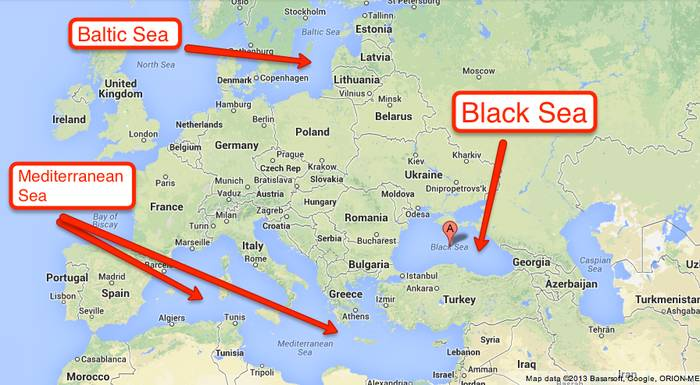 Black Sea Location On World Map | antioxidansmeres