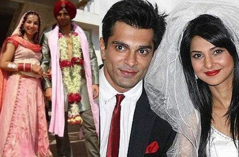 Karan Singh Grover And Jennifer Winget Marriage Indian celebrities who...