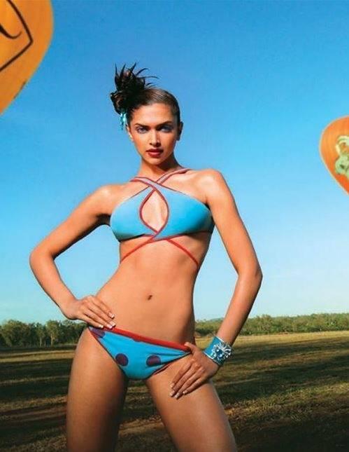 in bikini Deepika