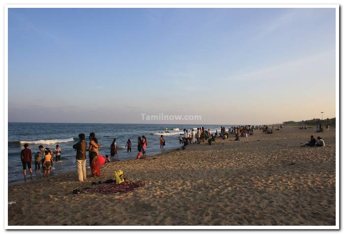 Beautiful Pictures Of Golden Beach Chennai