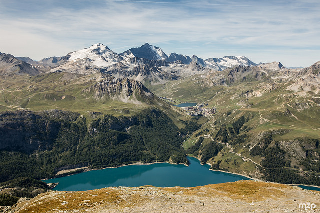Beautiful pictures of mont pourri in france - Lac du chevril ...