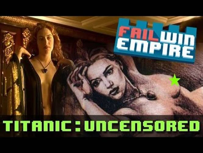 Titanic Drawing Scene Uncut