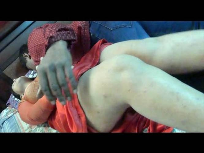 Mallu Aunty And Uncle Hot Romance On Bed In Bedroom
