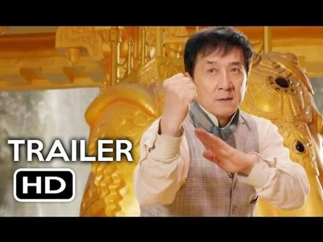 Kung-Fu Yoga Official Trailer #1 (2017) Jackie Chan, Disha ...