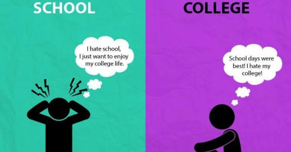 what is the difference between a school and a college