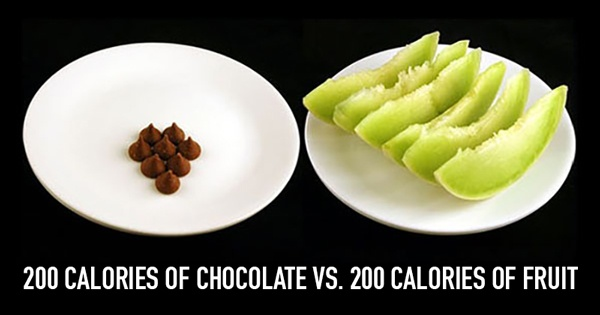These photos of 200 calories of junk food vs healthy food for Lean cuisine vs fast food
