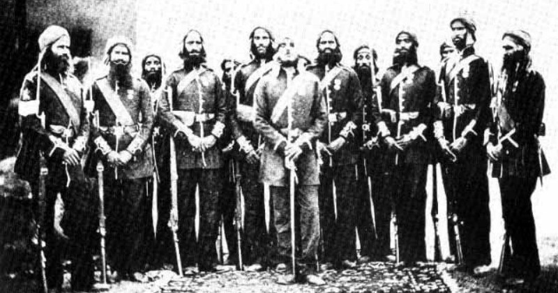 Image result for saragarhi battle