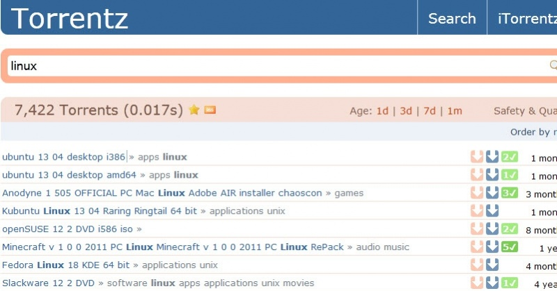 World\u0027s Biggest Torrent Search Site Torrentz Is Back, Days After
