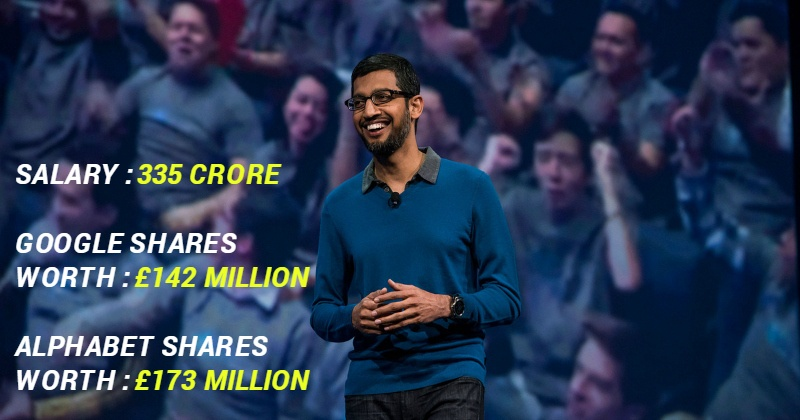 Sundar Pichai S Salary Package Will Really Make You Curl