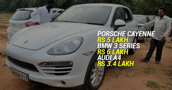 In Chennai Thousands Of Luxury Cars Are Being Sold At Throw Away