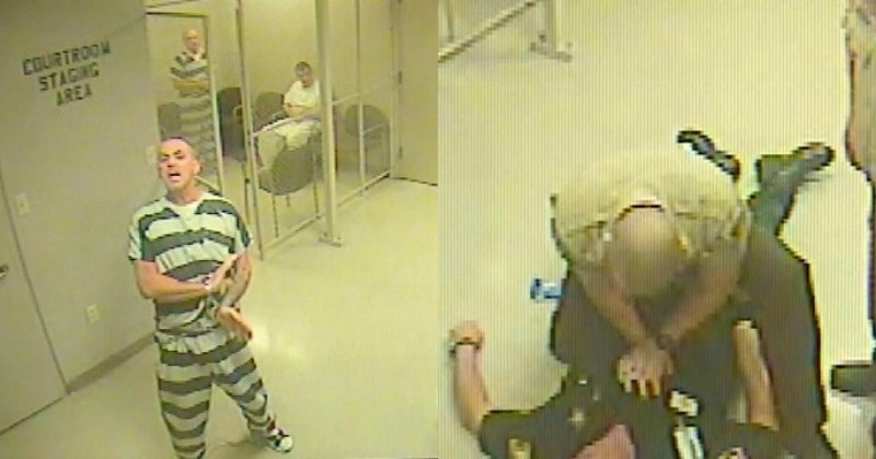 Inmates In Texas Break Out Of Jail To Save Guard Who