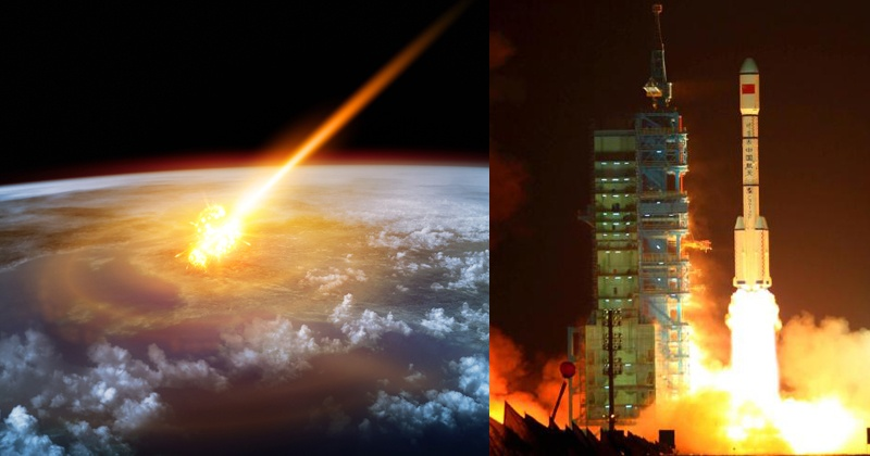 China's First Space Station Is 'Out Of Control', And Could ...