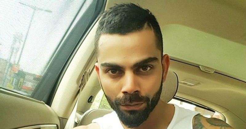 Check Out Virat Kohlis New Hairstyle Ahead Of The West Indies Tour