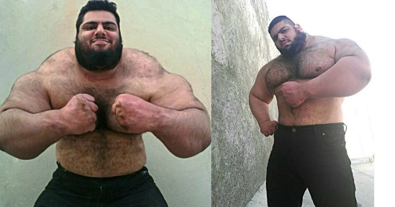 Meet 'Persian Hercules' Sajad Gharibi - The 24-Year-Old