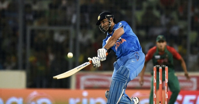 9 Times Mahendra Singh Dhoni Won Matches For India With A ... Mahendra Singh Dhoni Helicopter Shot Video