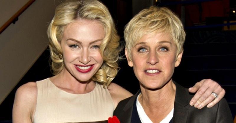Whoa! TV Host Ellen DeGeneres's Wife Portia Might Have