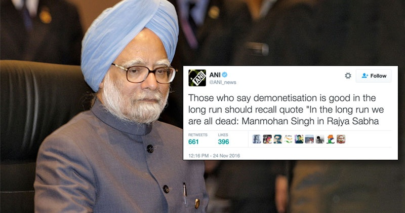 former pm dr manmohan singh finally speaks up hits out at modi s