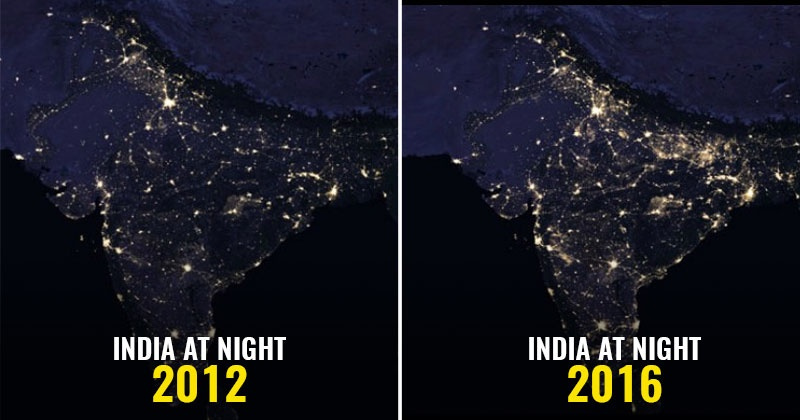 NASA Releases Images Of India As Seen From Space At Night And They Are  Breathtaking!   Indiatimes.com