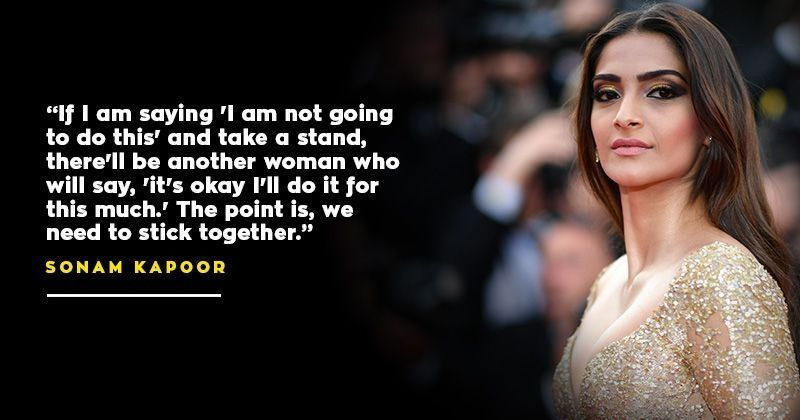 Calling Pay Gap A 'Difficult Upward Climb', Sonam Kapoor Says We Shouldn't Pull Each Other Down