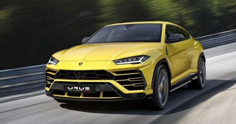 Lamborghini Urus Is The Fastest SUV In The World With A Top Speed Of 305 Km/h