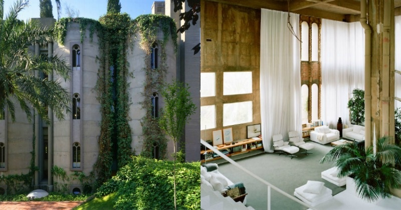 Architect takes 45 years to turn an old cement factory into a beautiful house that he now calls - Old cement factory turned home ...
