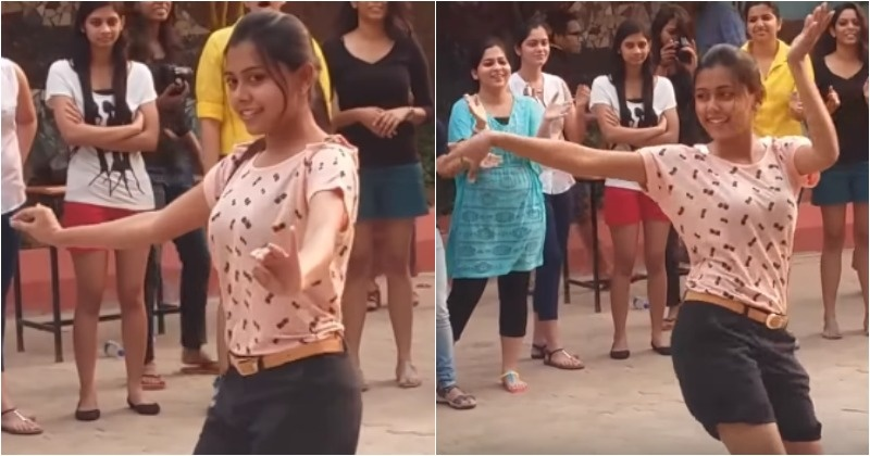 This Video Of College Girls From Odisha Dancing On Rahman -4163