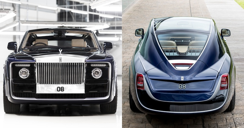 at 13 million rolls royce made the most expensive car in the world for one very rich customer. Black Bedroom Furniture Sets. Home Design Ideas
