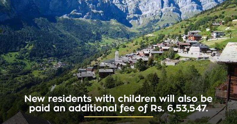 This Quaint Little Village In Switzerland Will Pay You Rs