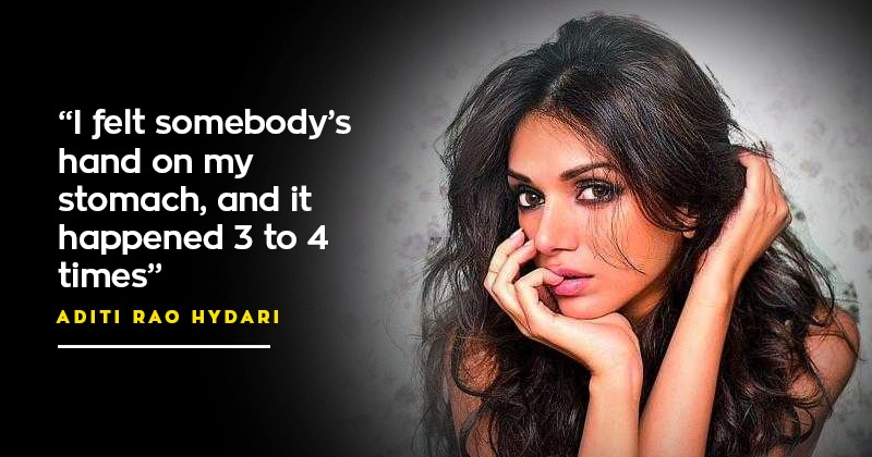 Aditi rao hydari talks about being molested at 15 how for Aditi indian cuisine