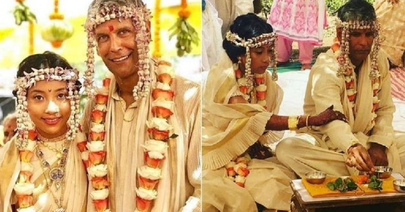 Milind Soman Marries Ankita In A Low-Key Ceremony And ...