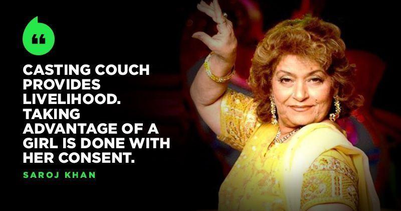 Choreographer Saroj Khan Defends Casting Couch, Says It Provides Livelihood To Girls -6492
