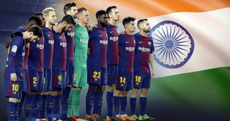 Spains top football club barcelona expresses condolences to kerala spains top football club barcelona expresses condolences to kerala flood victims offers support indiatimes stopboris Choice Image