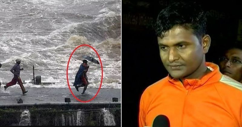 Image result for 1.	Watch this video of Rescue Officer running across flooding bridge to save a child