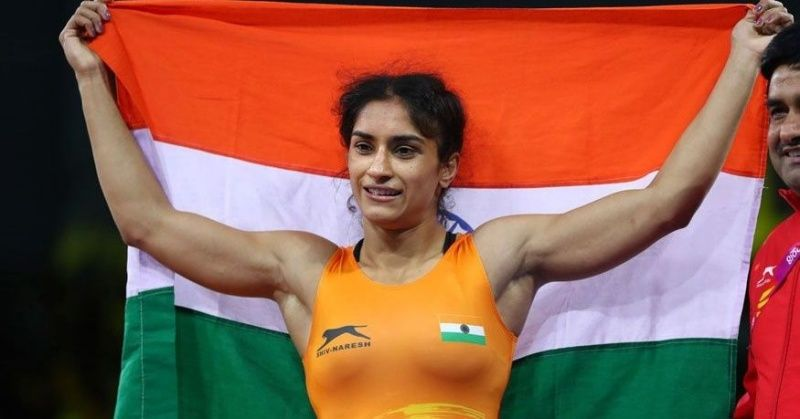 Asian Games 2018: Vinesh Phogat Wins India Its Second Gold Medal, Dominates Japanese Opponent ...