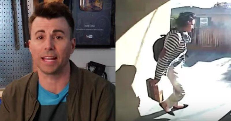 NASA Guy Built Glitter Bomb Trap To Humiliate & Record ...