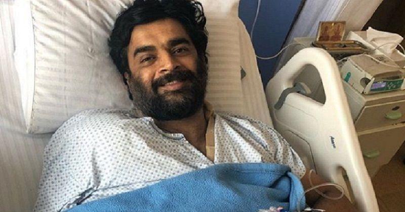 R Madhavan Hairstyle: R Madhavan Shares Post Shoulder Surgery Picture, Calls