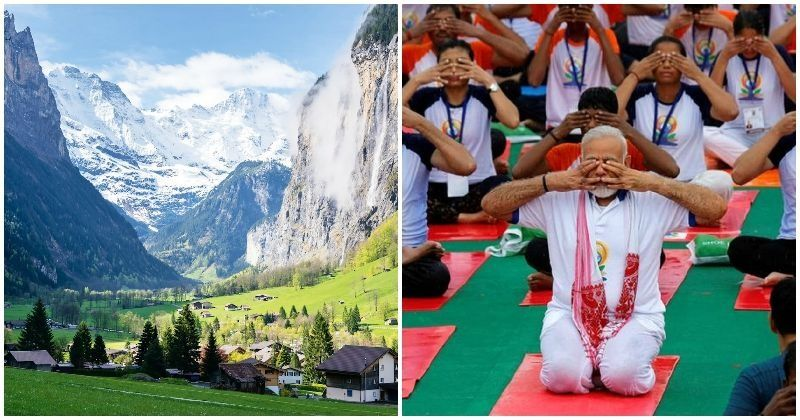 PM Modi's Delegation To World Economic Forum To Offer Yoga Classes On The Alps In Davos