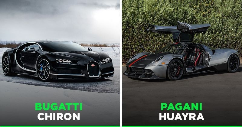 Someone Just Bought A Bugatti Chiron And Pagani Huayra